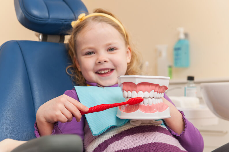 National Children's Dental Health Month Sealant Special!
