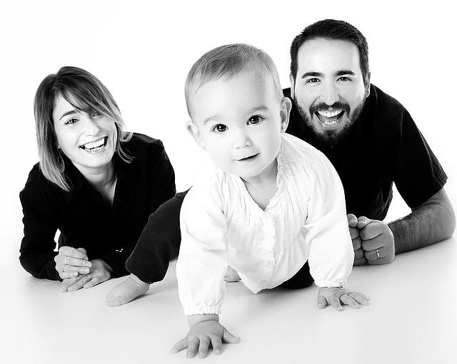 smiling family with dental membership plan